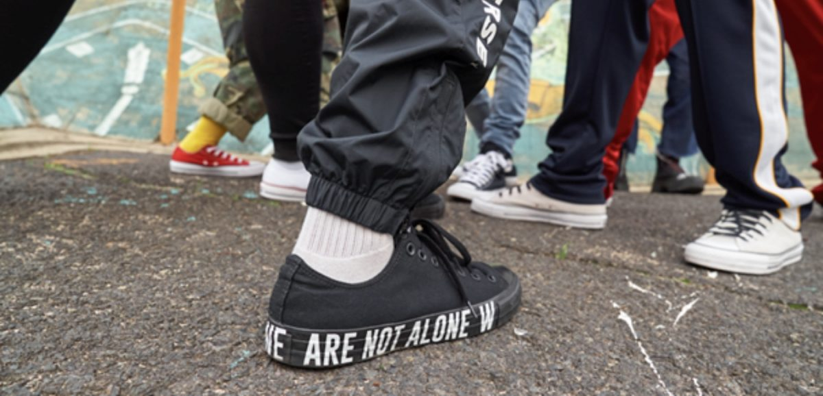 Converse we are not alone